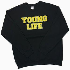 Young Life black crewneck